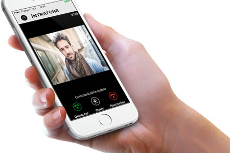 Intratone launch new access control App