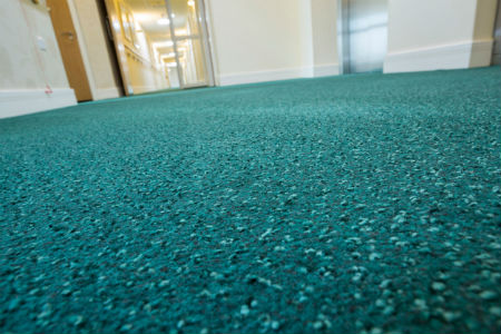 Flooring solution for care homes