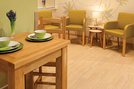 Using flooring to help create a safe, homely environment
