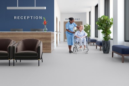 New Adhesive Free Safety Flooring