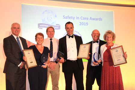 Safety in Care Awards 2019