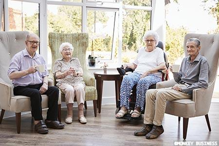 Enhancing levels of comfort and support for residents