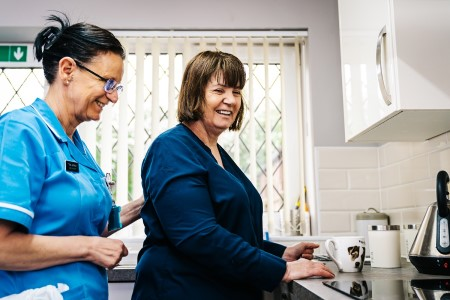 Exemplar dishes up free meals for care workers
