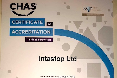 Intastop accreditation 'to support care sector'