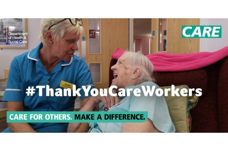Health department launches 'Make a Difference' care recruitment campaign
