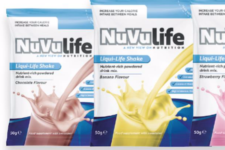 NuVu Life drinks to shake up nutrition for older people