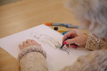 Drawing Life – art for people living with dementia