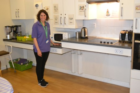 Cooking up health benefits with a therapy kitchen