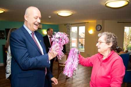 Welcoming visitors back into care homes