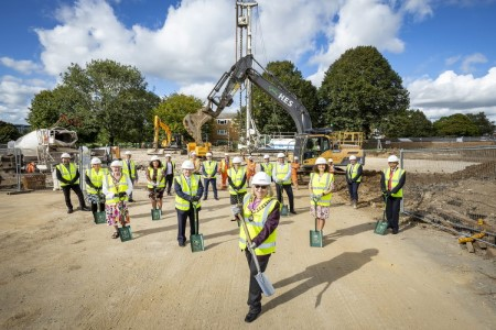 Bracknell marks construction path for Heathlands care home