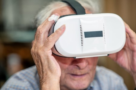 Harnessing VR technology for care home residents