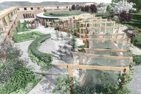 Final phase of 'revolutionary' dementia care home starts on site