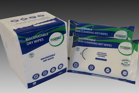 Boost infection control with new natural flushable cleansing wipes