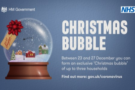 Care homes urged to think carefully on Christmas bubbles