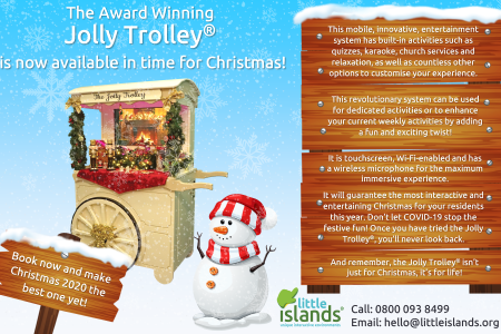 Jolly Trolley serves up Christmas cheer